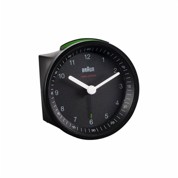 Braun Classic Light Analog Quartz Alarm Clock