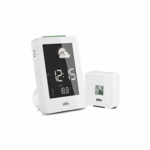 Braun  Temperature / Humidity Quartz Alarm Clock