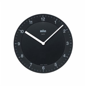 Braun  Braun Classic Analog Quartz Wall Clock