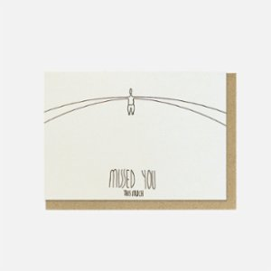 Paper Street Co.  Missed You Card