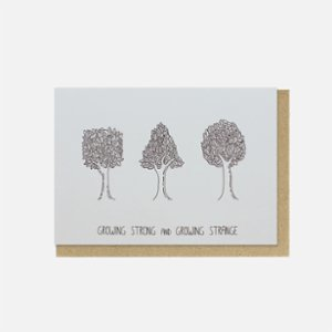 Paper Street Co.  Growing Strong and Growing Strange Card