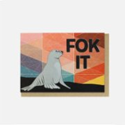 Paper Street Co.  Fok It Card