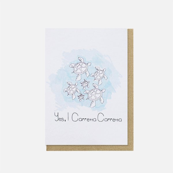 Paper Street Co. I Caretta Caretta Card
