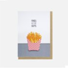 Paper Street Co. Fries Before Guys Card