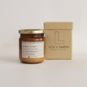 Lily's Candles   Bergamot & Lemon Natural Candle
