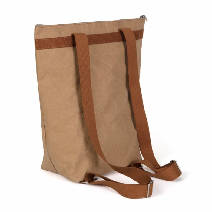 Epidotte Zip Tote Backpack - Sahara
