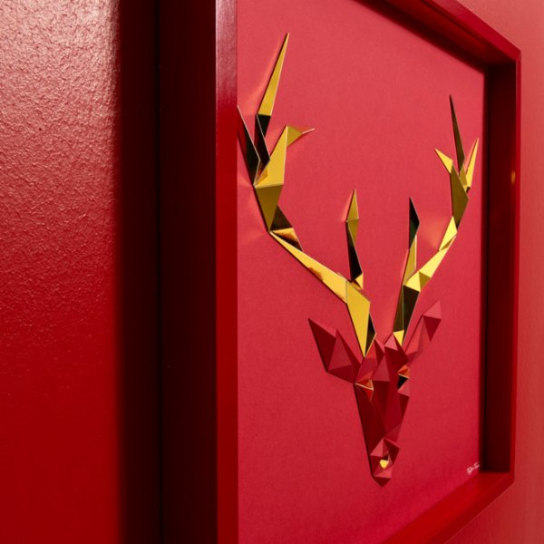 Paperpan	 Golden Antlers Artwork Christmas Edition