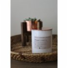 Lily's Candles  Bergamot & Vanilla Marble Natural Candle