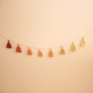 Som Design Studio	  Pompon Wall Hanging