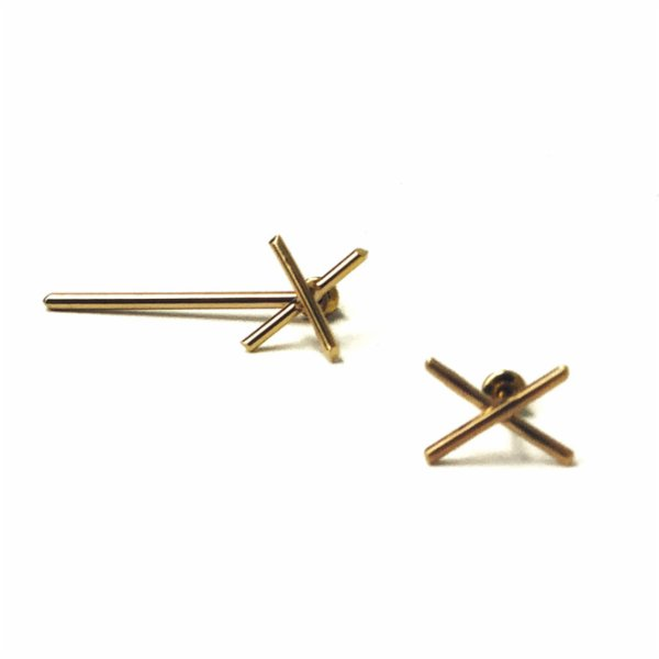 Art Project İstanbul X Earring Gold