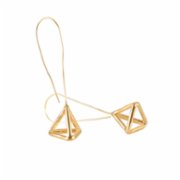 who.is.perfect  Flying Pyramid Earrings