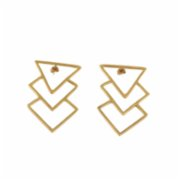 who.is.perfect  Triangled Earrings