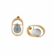 who.is.perfect  Drop Oval Earrings