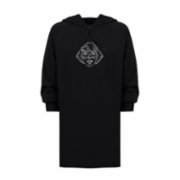 Balbang  Embroidered Sweatshirt Dress
