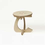 Tufetto  Tospaa Wooden Coffe Table