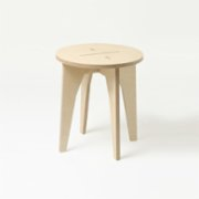 Tufetto  XOX Wooden Stool