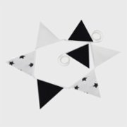 Baluna  Blackstar Fabric Flag Ornament