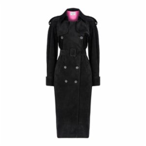 Nazlı Ceren  Black Tube Shaped Coat