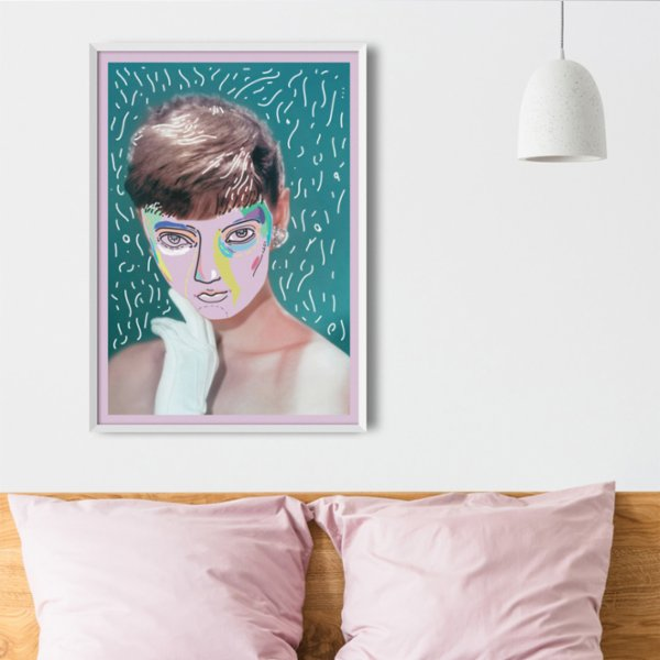 Every Other Day Audrey Hepburn Poster