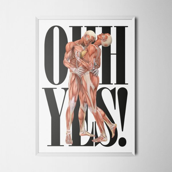 Every Other Day Oh Yes Poster