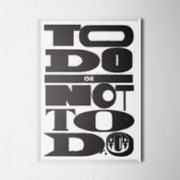 Every Other Day  To Do Or Not To Do Poster