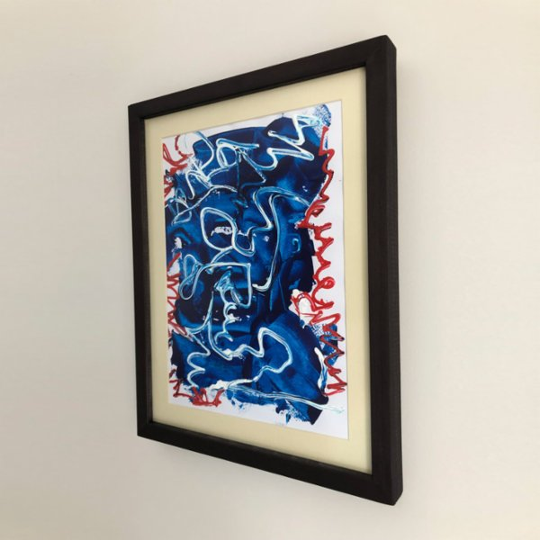 Ark+Art Blue Out Painting