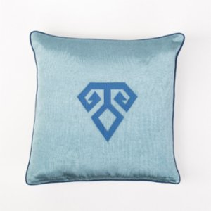 Bohemtolia  Hands-on-hips Embroidered Pillow