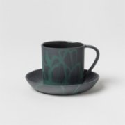 Masuma Ceramics  Leaf Turkish Coffee Set
