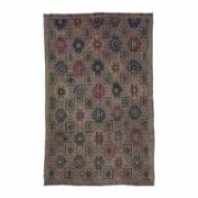 Selam Carpet & Home  Tan Vintage Kilim