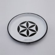 Mesele  The Flower Of Life Enamel Tray - (The Secret Of The Universe)