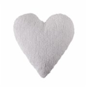 Lorena Canals	  Heart White Pillow