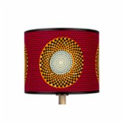 3rd Culture  Lumbo Fabric Lampshade