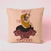 Serkan Akyol  Death to Hipsters Pillow