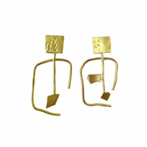Mihaniki Design	  Balance-Ante Earrings