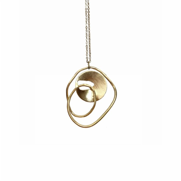 Mihaniki Design	 Vicious Cycle Necklace