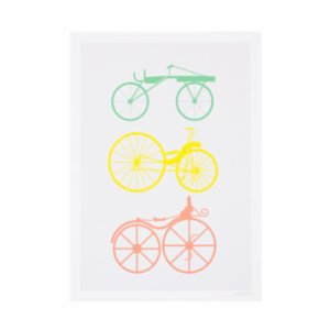 Crocodily  Bcycles Poster