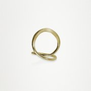 Unadorned Jewelry Design  The Curly Ring