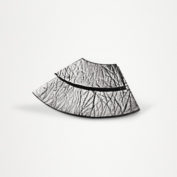 Unadorned Jewelry Design The Twice Wave Earring