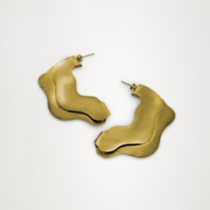 Unadorned Jewelry Design  The Wave Earring
