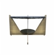 Dreambig The Furniture Company  Slope Marble Coffee Table I