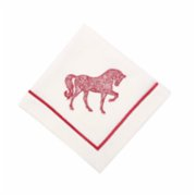 Some Home İstanbul  Horse Chance in Figured Napkin