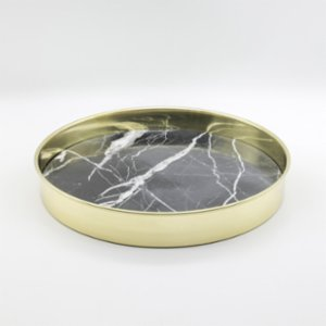 Minval  Hoop Marble Tray