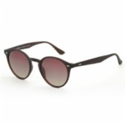Looklight  Letoon Matte Brown Unisex Sunglasses