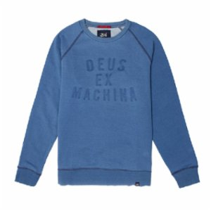 Deus ex Machina  Indigo Crew Sweater