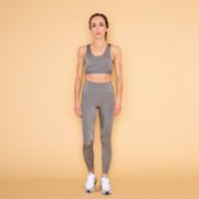 Hug the Moon  Cut-out Platinum Leggings