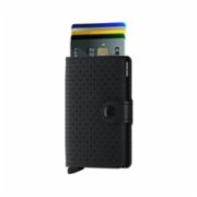 Secrid  Miniwallet Perforated Black Wallet