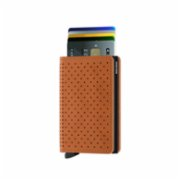 Secrid  Slimwallet Perforated Cognac Wallet