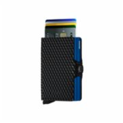 Secrid  Twiniwallet Cubic Black Blue Wallet