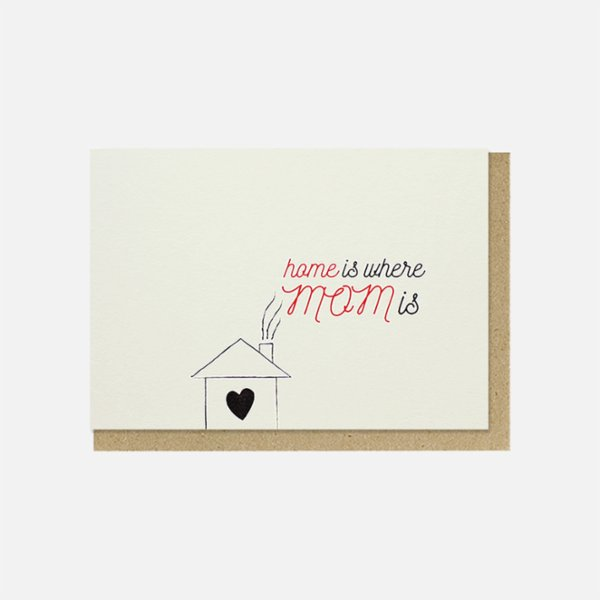 Paper Street Co. Home is Where Mom is Card