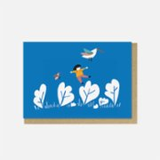 Paper Street Co.  Let's Fly Away Card